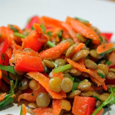lentilha-com-pimentão